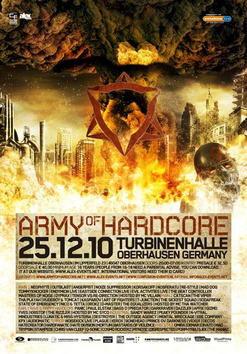 ARMY OF HARDCORE 2010